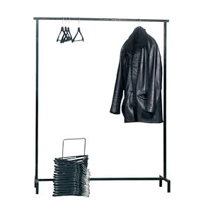 tringle porte manteau 120cm 30 cintres. Black Bedroom Furniture Sets. Home Design Ideas