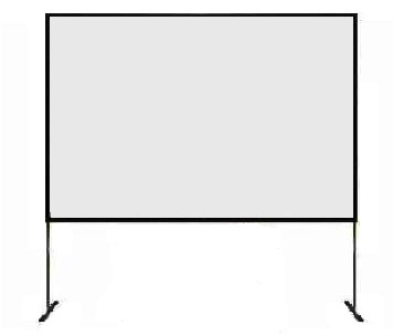toile de projection fast fold 240x180cm thiribut events