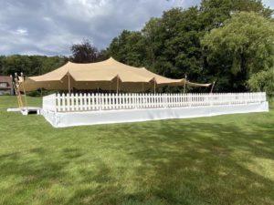Barrières pour un terrasse