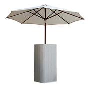 Socle Lato blanc avec parasol