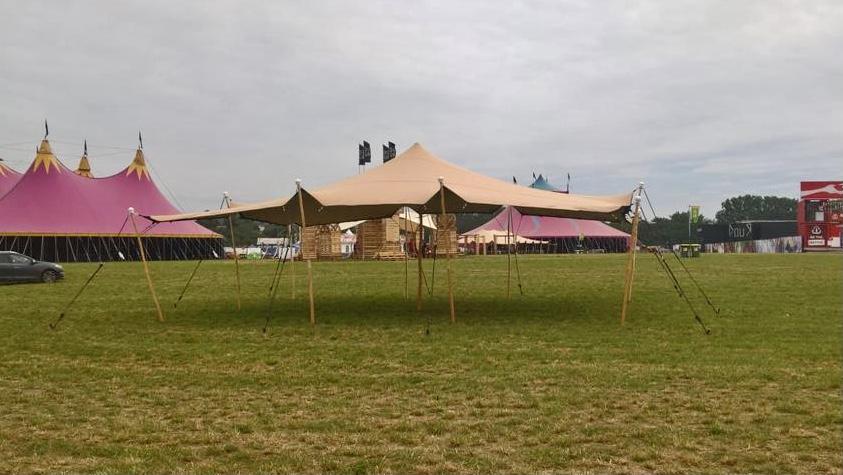 Festival de Dour avec les tentes stretch!